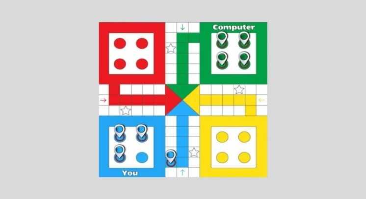 Ludo king mod apk regualar game board